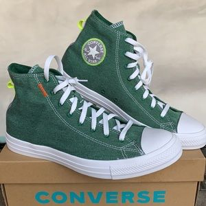 CONVERSE CTAS HI MIDNIGHT CLOVER/LEMON VENOM MENS